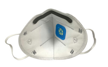 Disposable Carbon Filter Respirator Mask , FFP1 Face Mask CE Approved